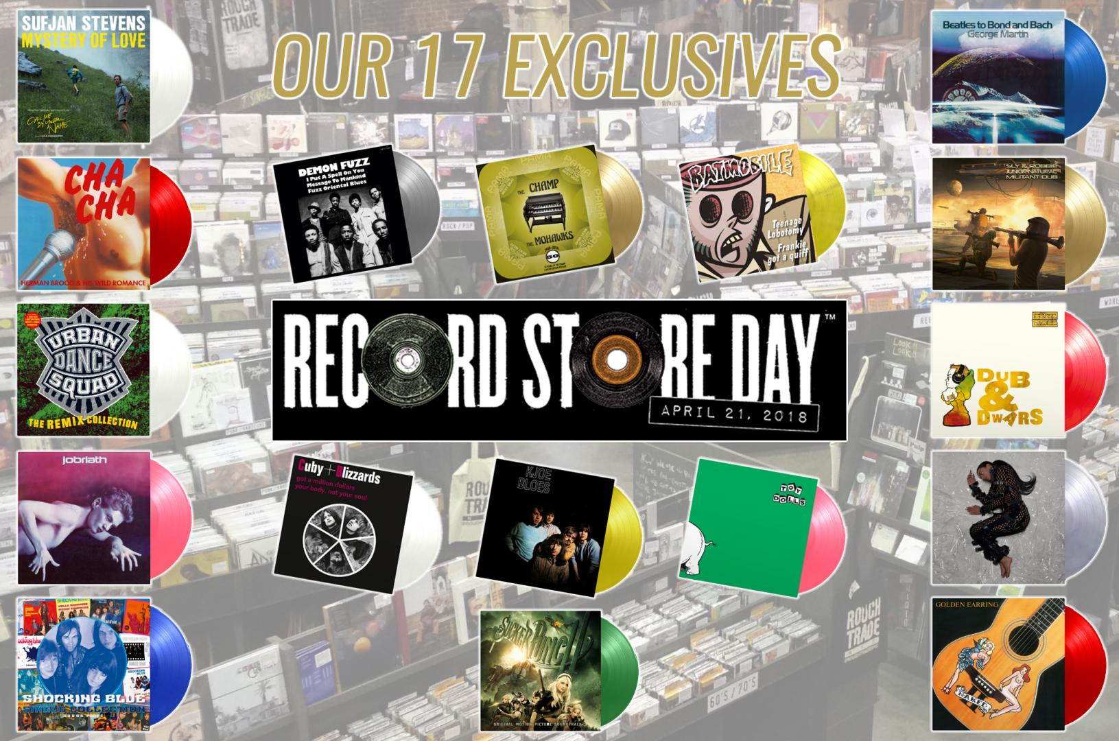 RECORD STORE DAY 2018 - Music On Vinyl