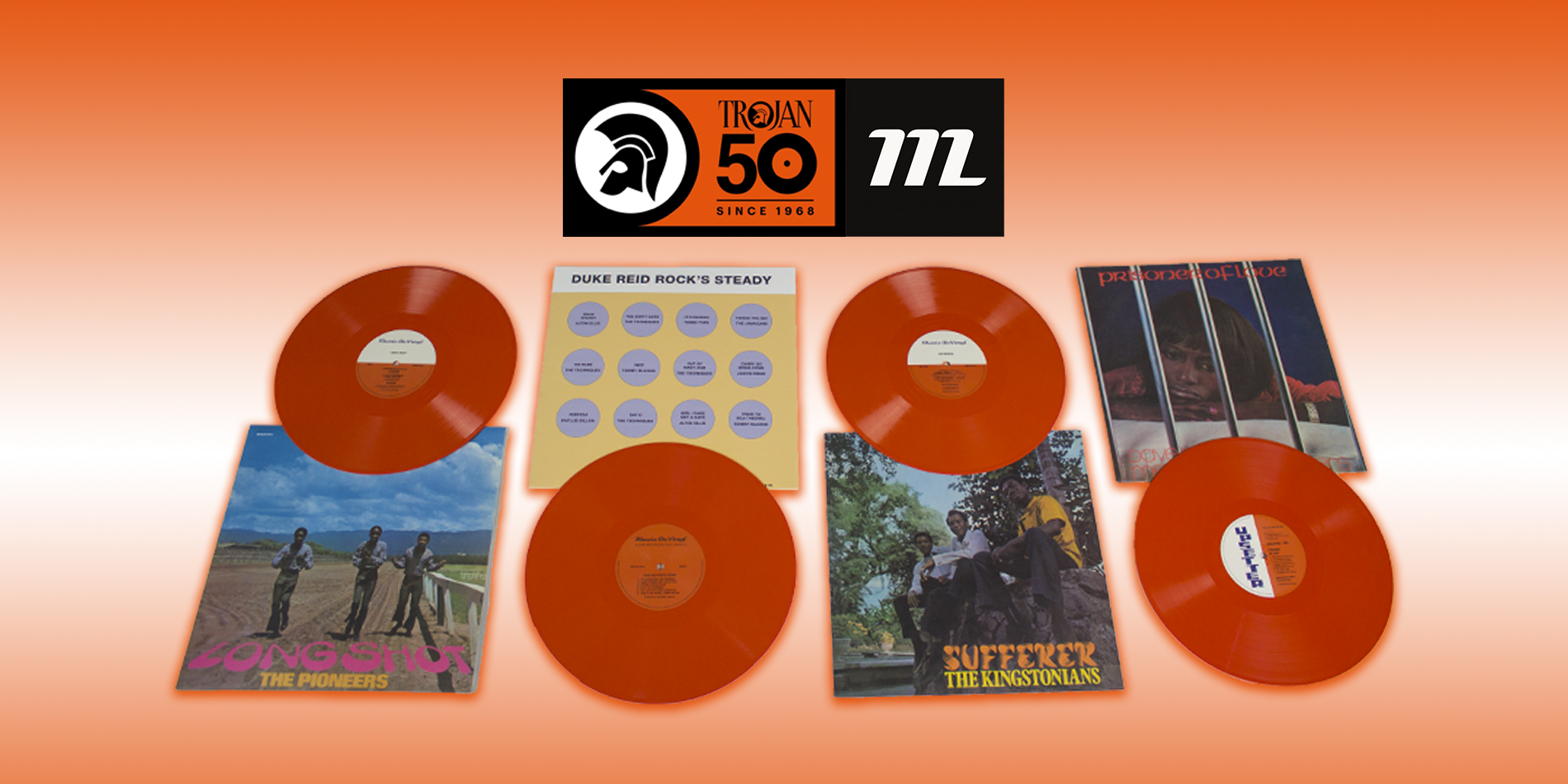Music On Vinyl celebrates Trojan's 50th anniversary
