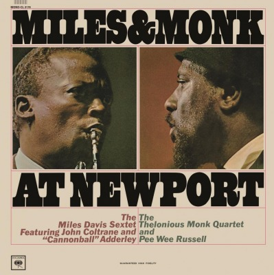 MILES DAVIS - MILES & MONK AT NEWPORT =MONO=