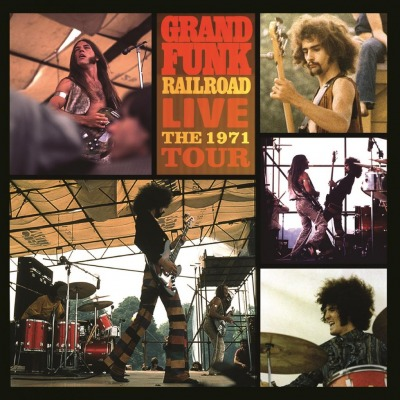 GRAND FUNK RAILROAD - LIVE -THE 1971 TOUR-