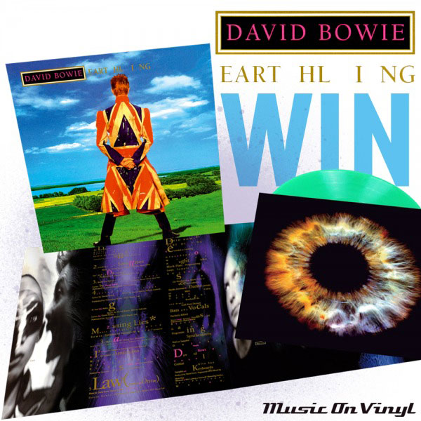 Win A Green David Bowie Earthling Lp Music On Vinyl