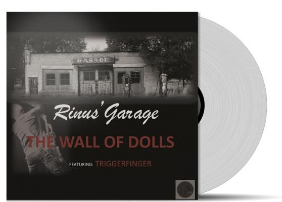 Rinus Gerritsen 2014 Wall Of Dolls limited edition vinyl single