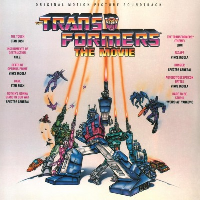 ORIGINAL SOUNDTRACK - TRANSFORMERS (STAN BUSH, WEIRD AL YANKOVIC A.O.)