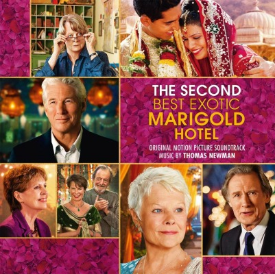 ORIGINAL SOUNDTRACK - THE SECOND BEST EXOTIC MARIGOLD HOTEL (THOMAS NEWMAN)