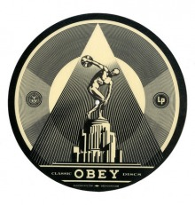 PRESENTING THE OBEY / MUSIC ON VINYL SLIPMAT