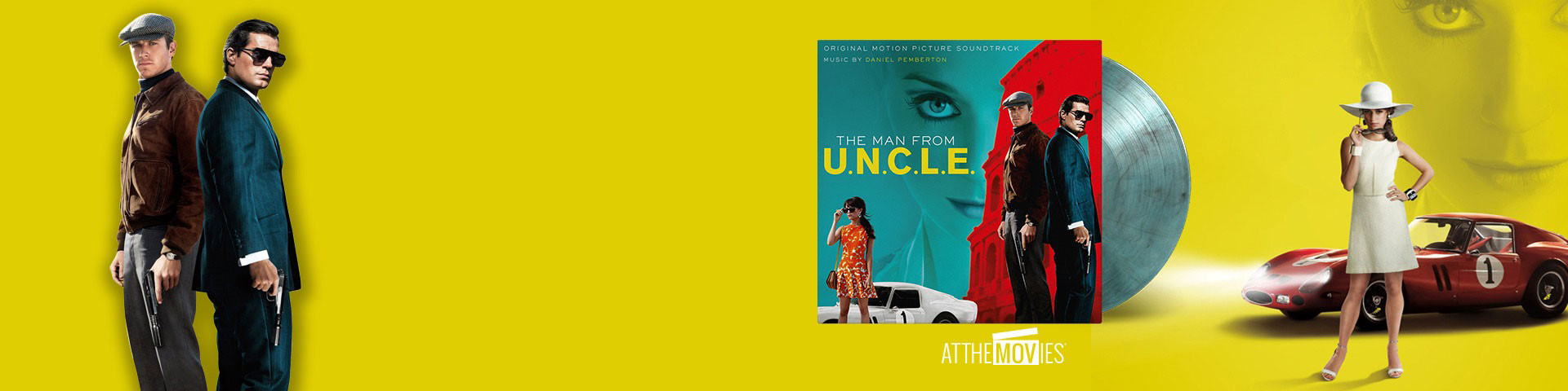 ORIGINAL SOUNDTRACK - THE MAN FROM U.N.C.L.E.