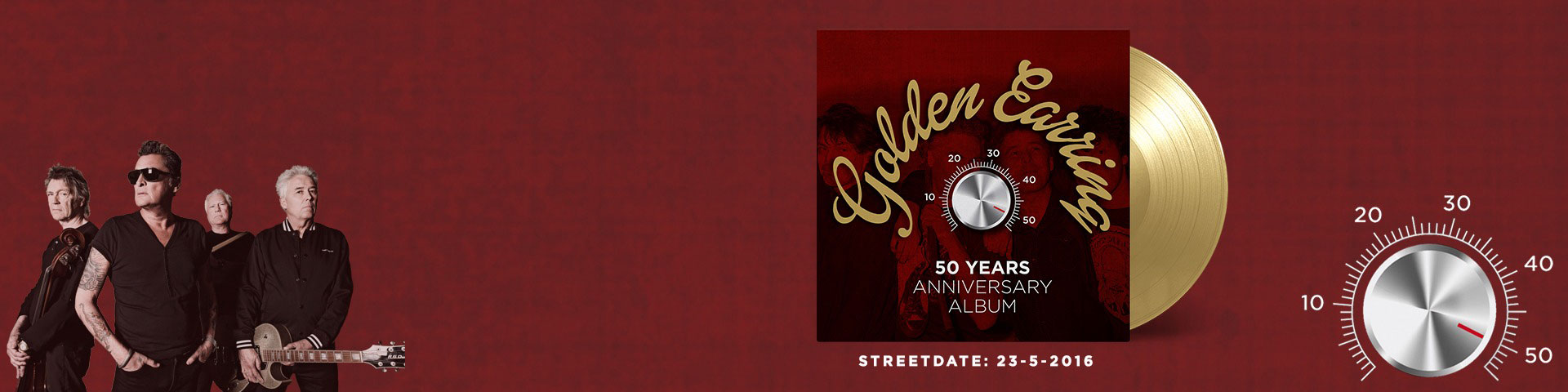 GOLDEN EARRING 50 YEARS