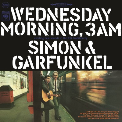 SIMON & GARFUNKEL -WEDNESDAY MORNING, 3 AM
