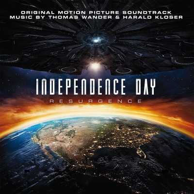 ORIGINAL SOUNDTRACK - INDEPENDENCE DAY: RESURGENCE (BY THOMAS WANDER & HARALD KLOSER)