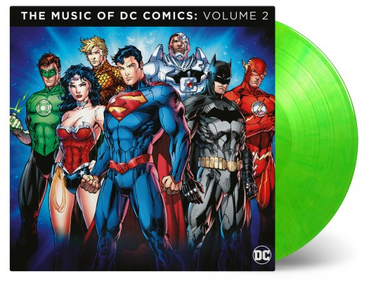 OST - THE MUSIC OF DC COMICS VOLUME 2 (JOHN WILLIAMS, HANS ZIMMER, DANNY ELFMAN A.O.)