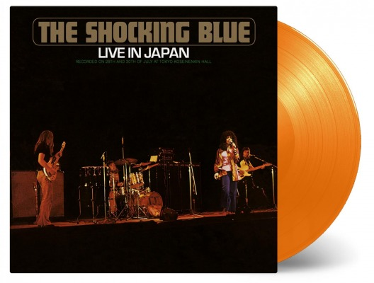 THE SHOCKING BLUE - LIVE IN JAPAN