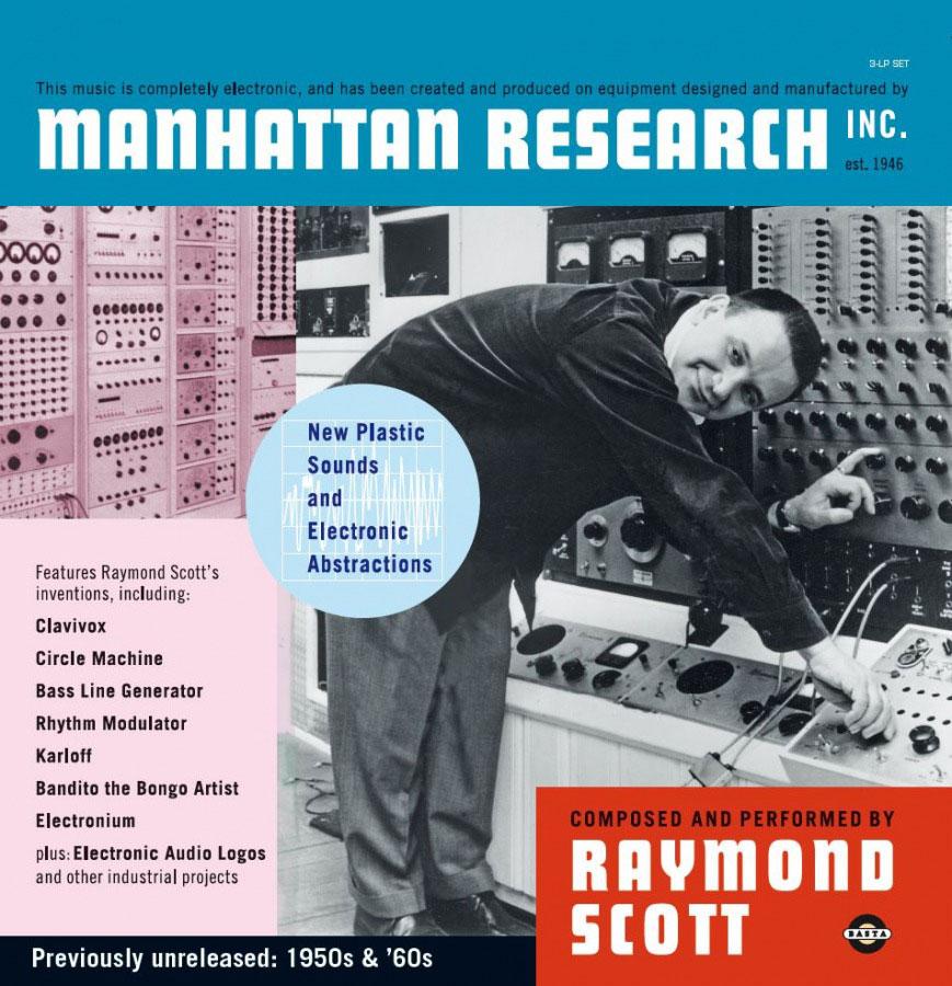 RAYMOND SCOTT - MANHATTAN RESEARCH - Music On Vinyl