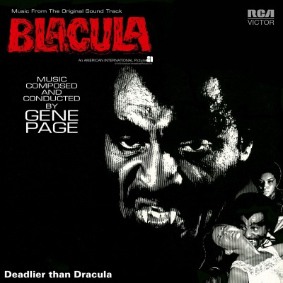 OST - BLACULA (GENE PAGE)