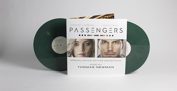OUT NOW: PASSENGERS ORIGINAL SCORE