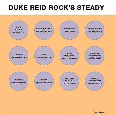 VARIOUS ARTISTS - DUKE REID ROCKS STEADY