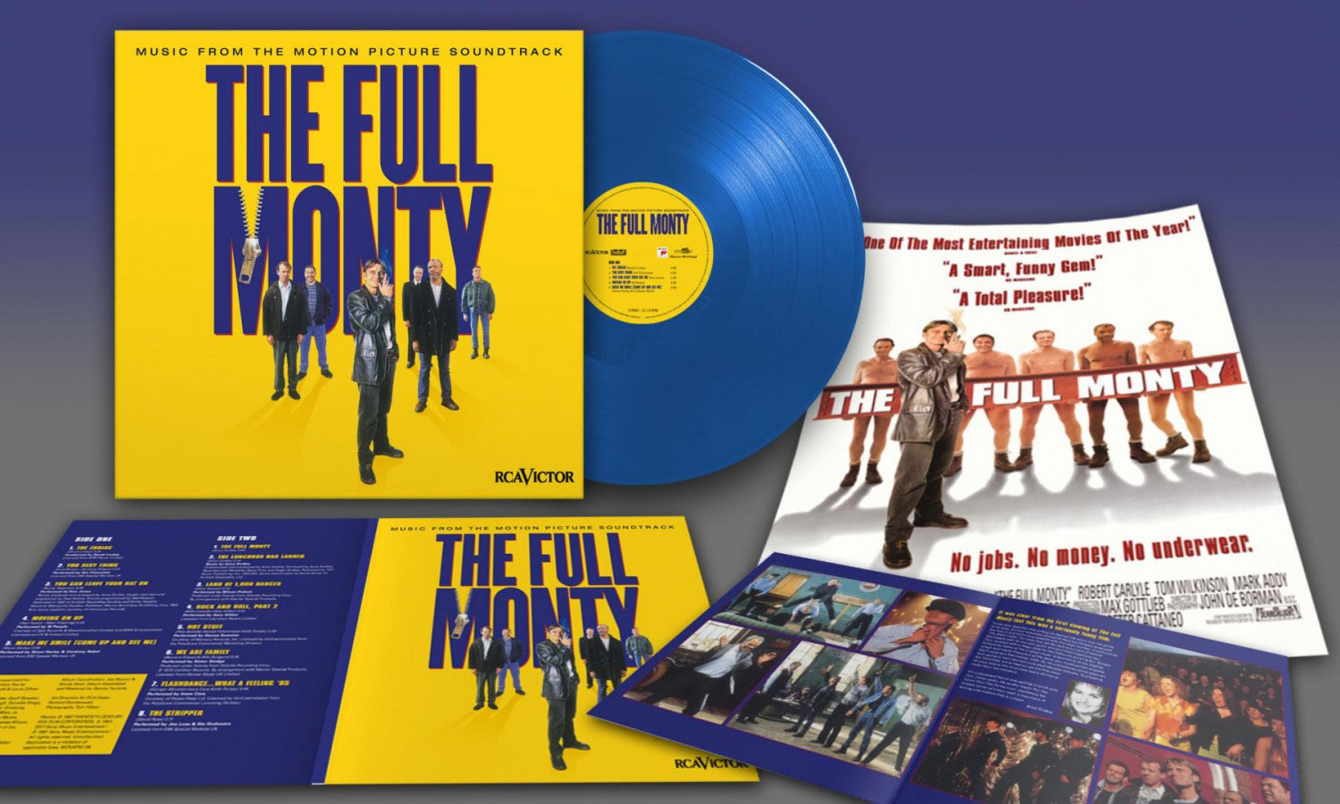 Ost The Full Monty Anne Dudley Hot Chocolate Tom