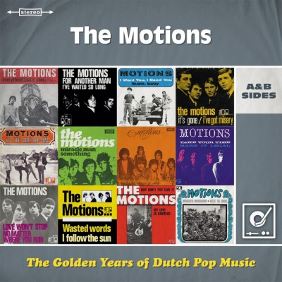 THE MOTIONS - THE GOLDEN YEARS OF DUTCH POP MUSIC: A&B SIDES