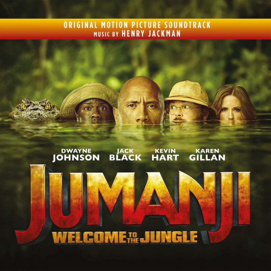 Ost Jumanji Welcome To The Jungle Music On Vinyl