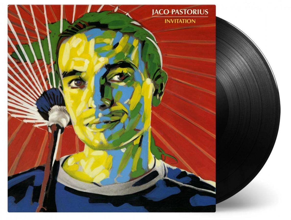 Jaco pastorius invitation catalog music on vinyl jaco pastorius invitation stopboris Image collections
