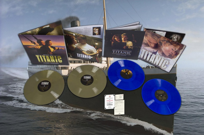 Win our beautiful Titanic package