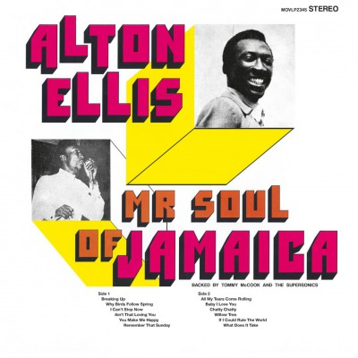 ALTON ELLIS - MR . SOUL OF JAMAICA