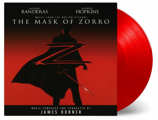 OST - THE MASK OF ZORRO (JAMES HORNER)