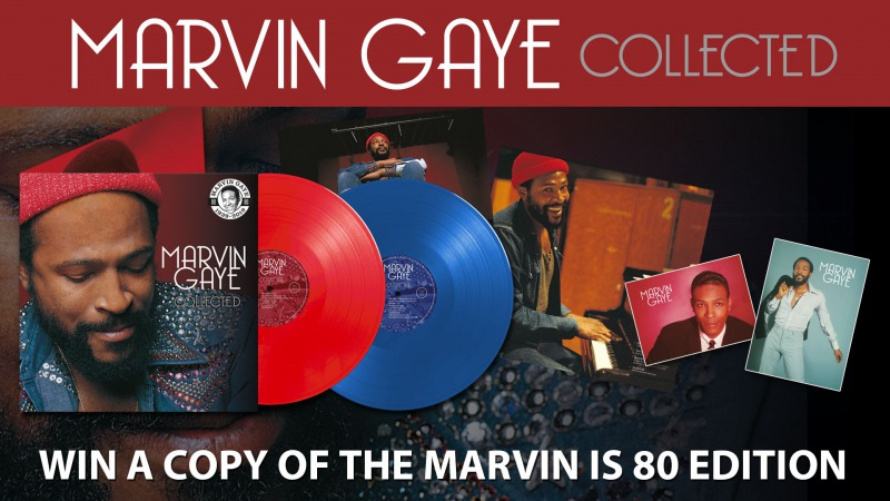 Win Marvin Gaye Collected