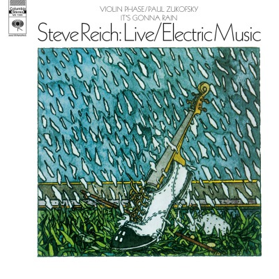 STEVE REICH - LIVE/ELECTRIC MUSIC