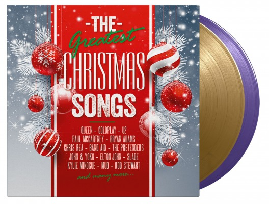 Various Artists The Greatest Xmas Songs Music On Vinyl