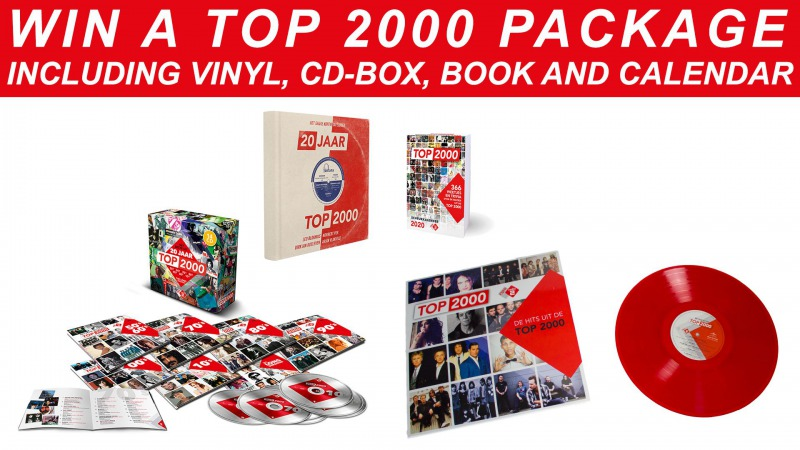 WIN A TOP 2000 PACKAGE