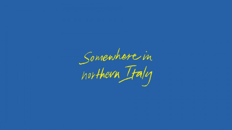 Call Me By Your Name - Somewhere in Northern Italy