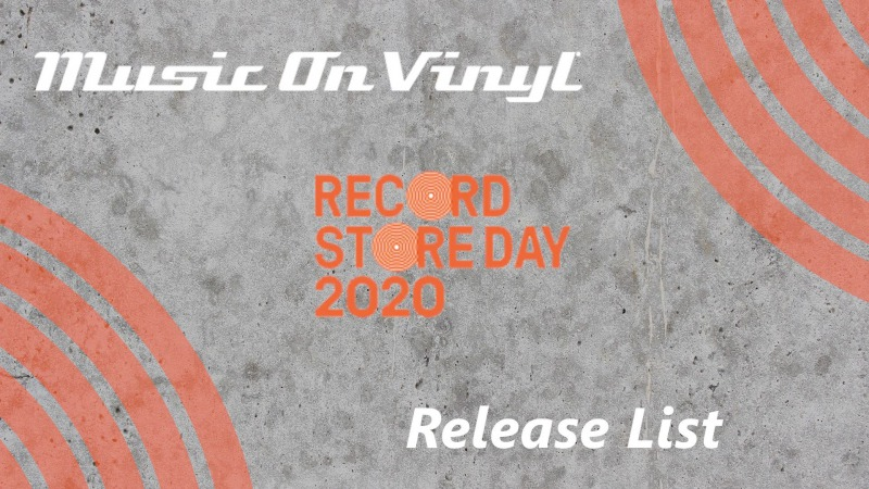 Record Store Day 2020 Release List