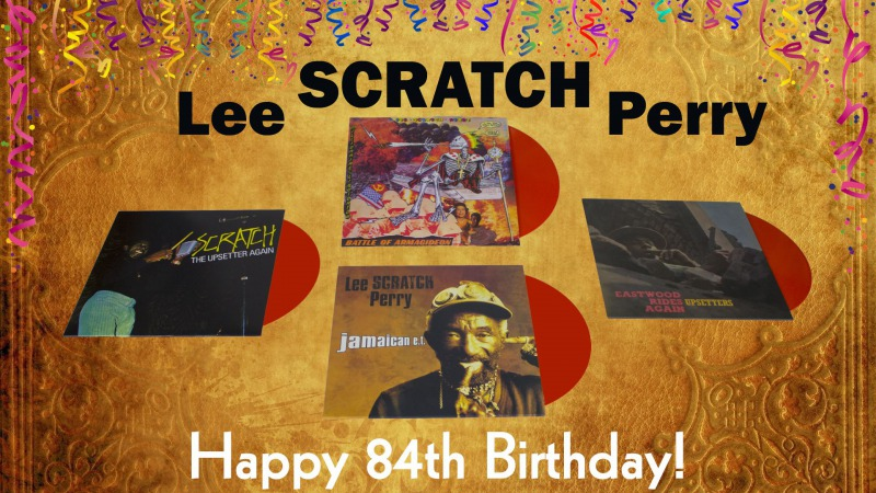 "Lee ""Scratch"" Perry 84th Birthday"