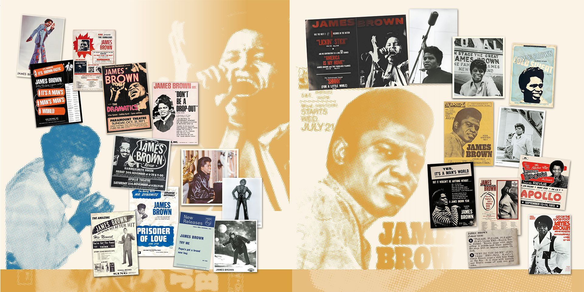 James Brown Posters