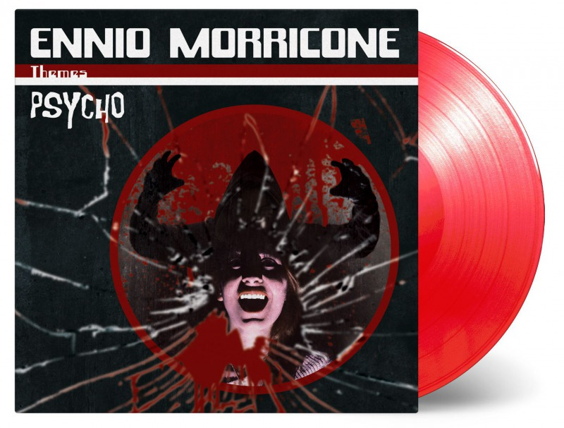 Limited edition on on translucent red vinyl
