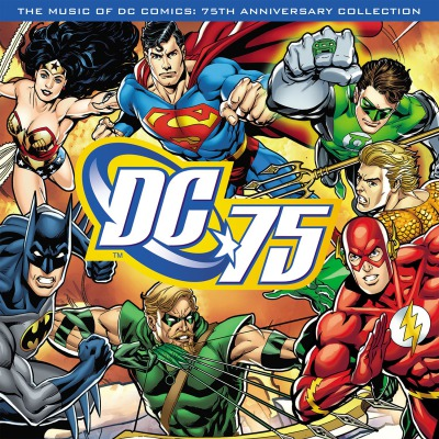 VARIOUS ARTISTS - THE MUSIC OF DC COMICS - 75TH ANNIVERSARY COLLECTION