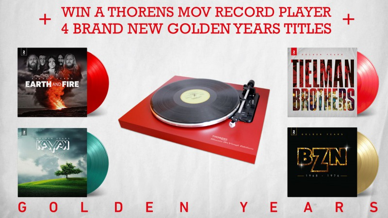 WIN a Record Player + 4 Golden Years titles