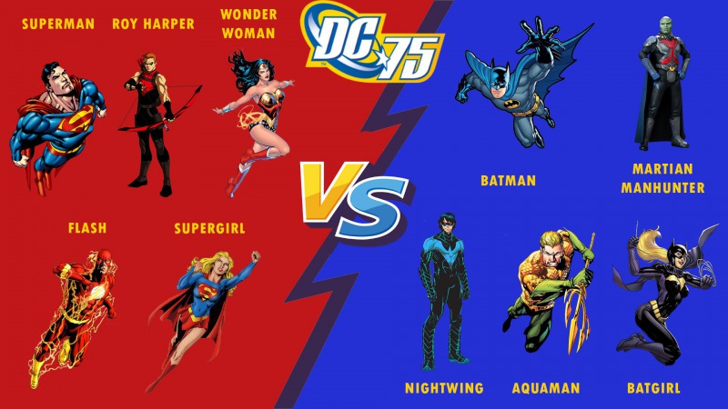 THE MUSIC OF DC COMICS: BATTLES