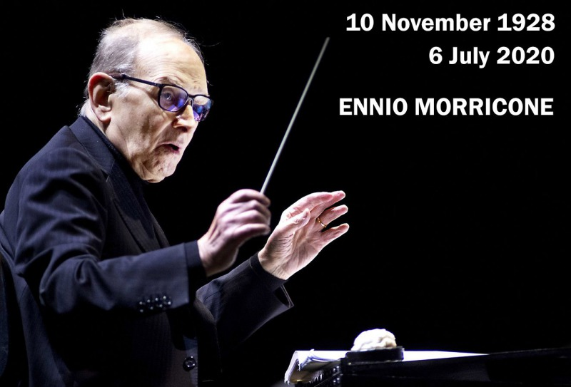 Ennio Morricone passed away at the age of 91
