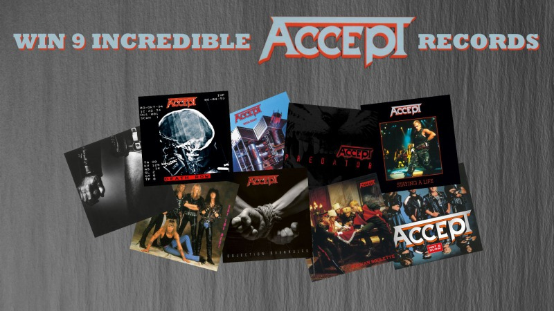 WIN 9 INCREDIBLE ACCEPT RECORDS!