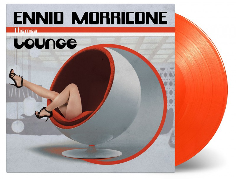 Limited edition on solid orange vinyl