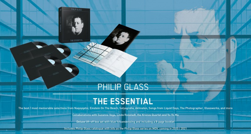 Record Store Day Drops 2020: Philip Glass - The Essential