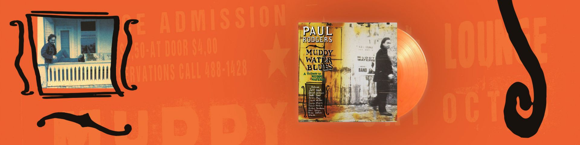 PAUL RODGERS - MUDDY WATER BLUES