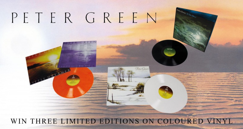 WIN THREE INCREDIBLE PETER GREEN RECORDS!