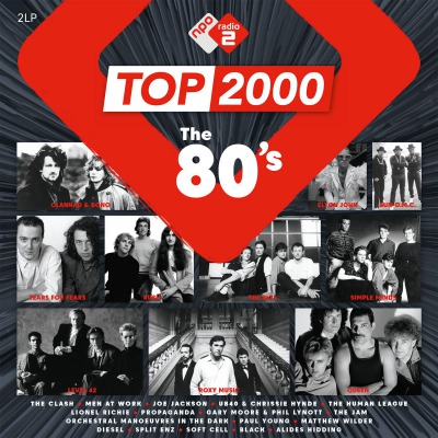 VARIOUS ARTISTS - TOP 2000 THE 80'S