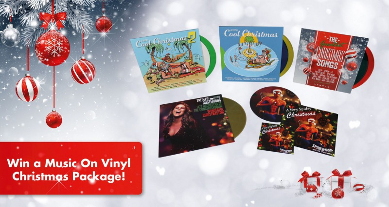 WIN A MUSIC ON VINYL CHRISTMAS PACKAGE!