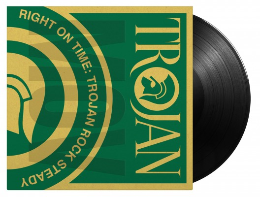 VARIOUS ARTISTS - RIGHT ON TIME - TROJAN ROCK STEADY