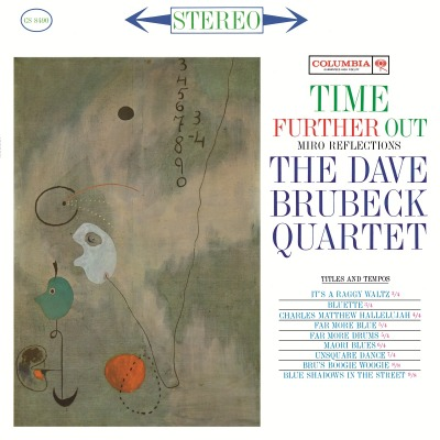 THE DAVE BRUBECK QUARTET - TIME FURTHER OUT